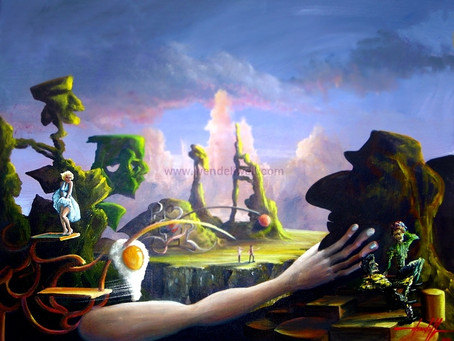 Pintura Surreal - Coleção Xanadu