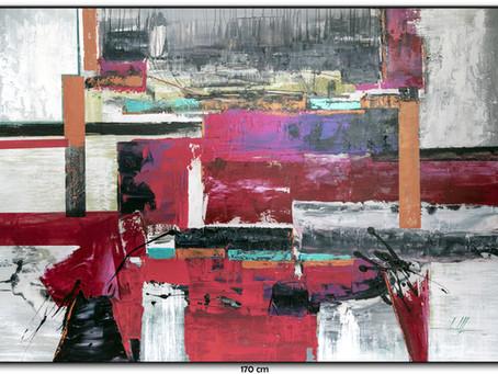 Quadro Abstrato 1,70 M x 1,20 M