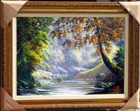 quadro de paisagem