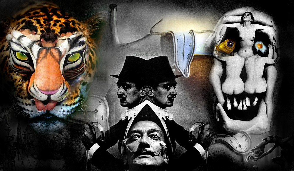Arte Digital com Salvador Dali