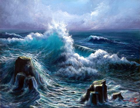 quadros com marinhas