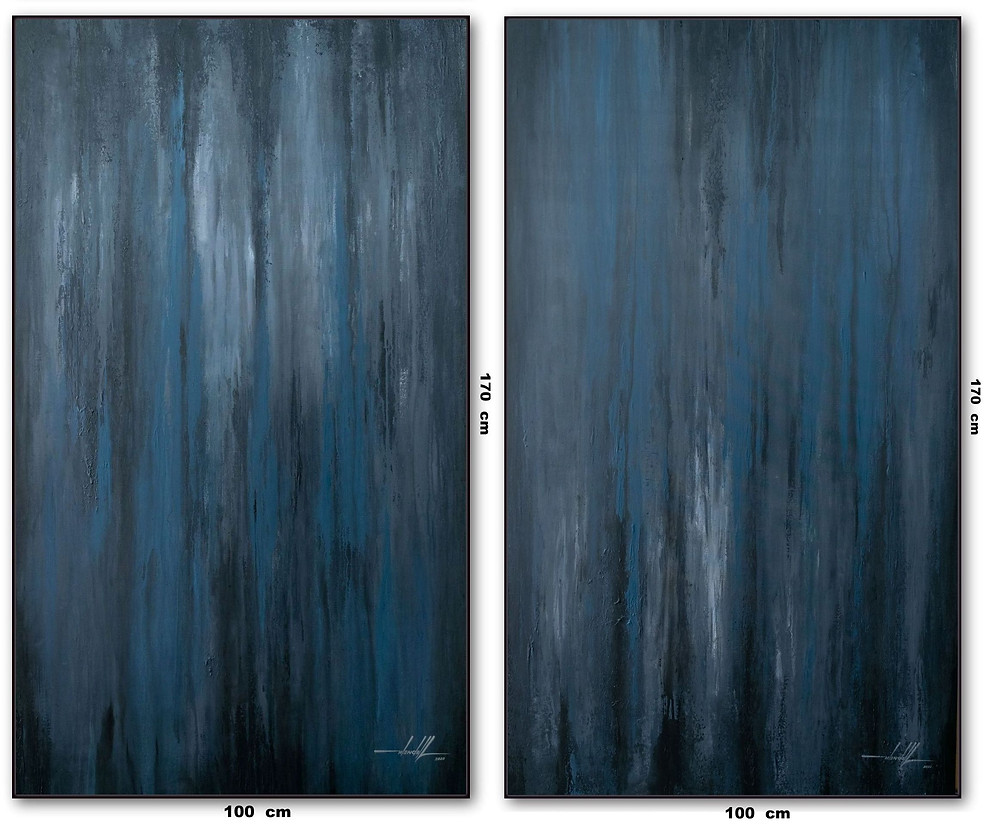 Quadros Abstratos Para Pé Direito Duplo