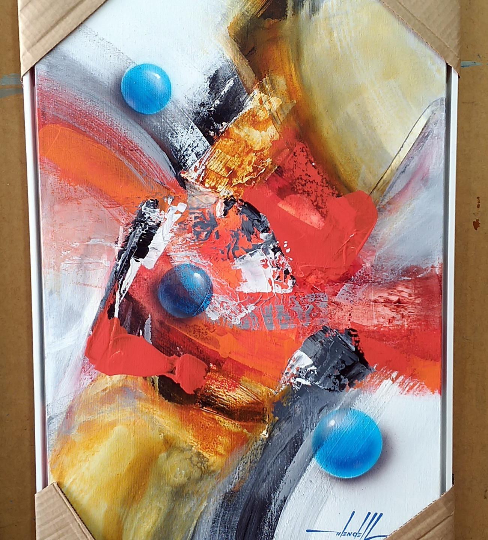 Quadros Abstratos Para Apartamento  (11)