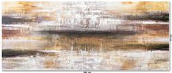 Tela Abstrata Para Quadro Grande 2,40 m