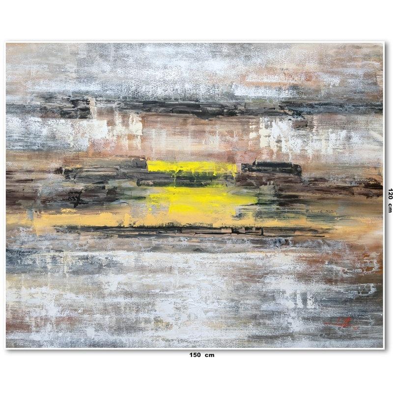 Pintura Abstrata em Tela 1,50 m x 1,20 m
