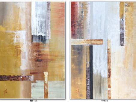 Quadros Abstratos Na Vertical