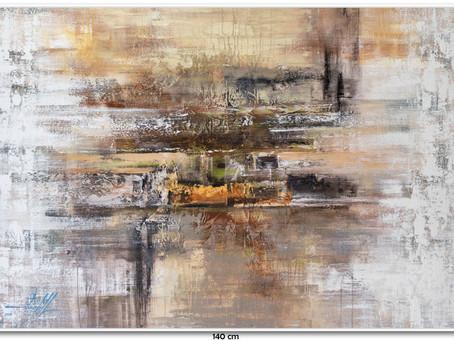 Obra De Arte Abstrata Por Encomenda