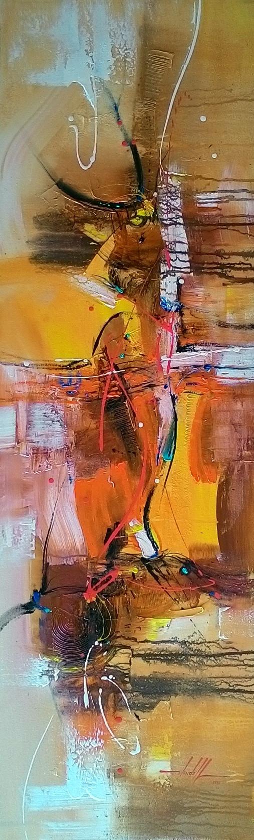 Pintura Abstrata - Quadro Moderno