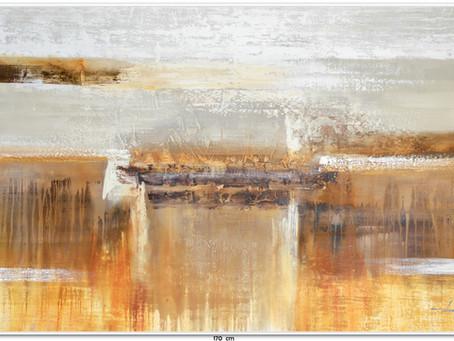 Quadro Abstrato 1,70 M x 1 M