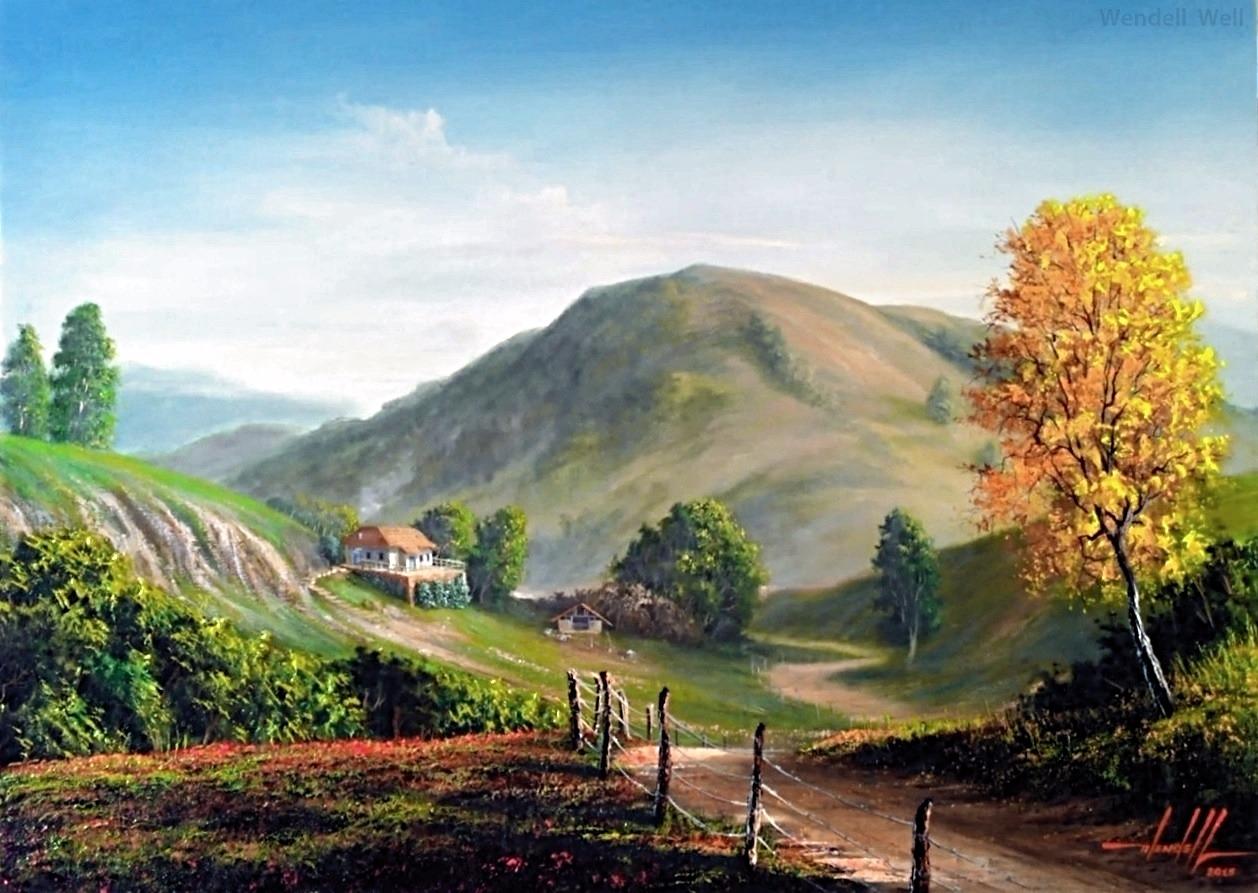 pintura em tela paisagem (6)