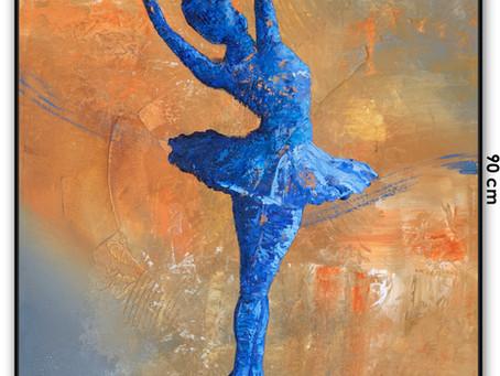 Obra De Arte Bailarina