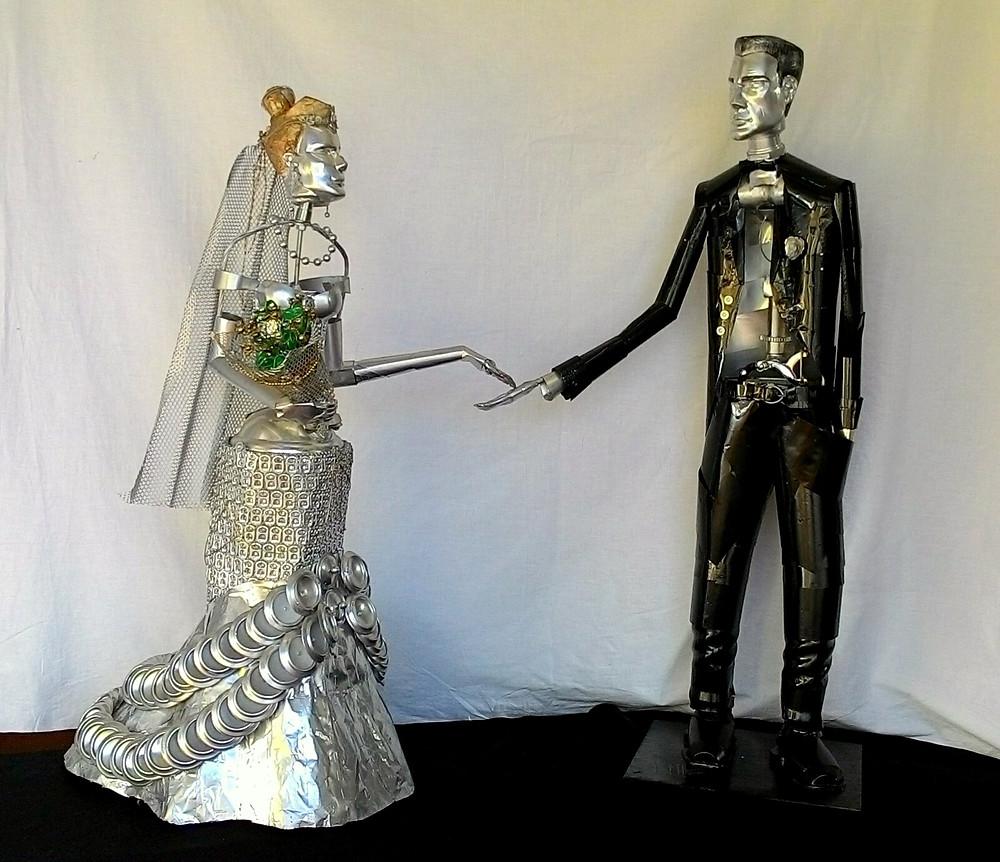 Escultura em Metal