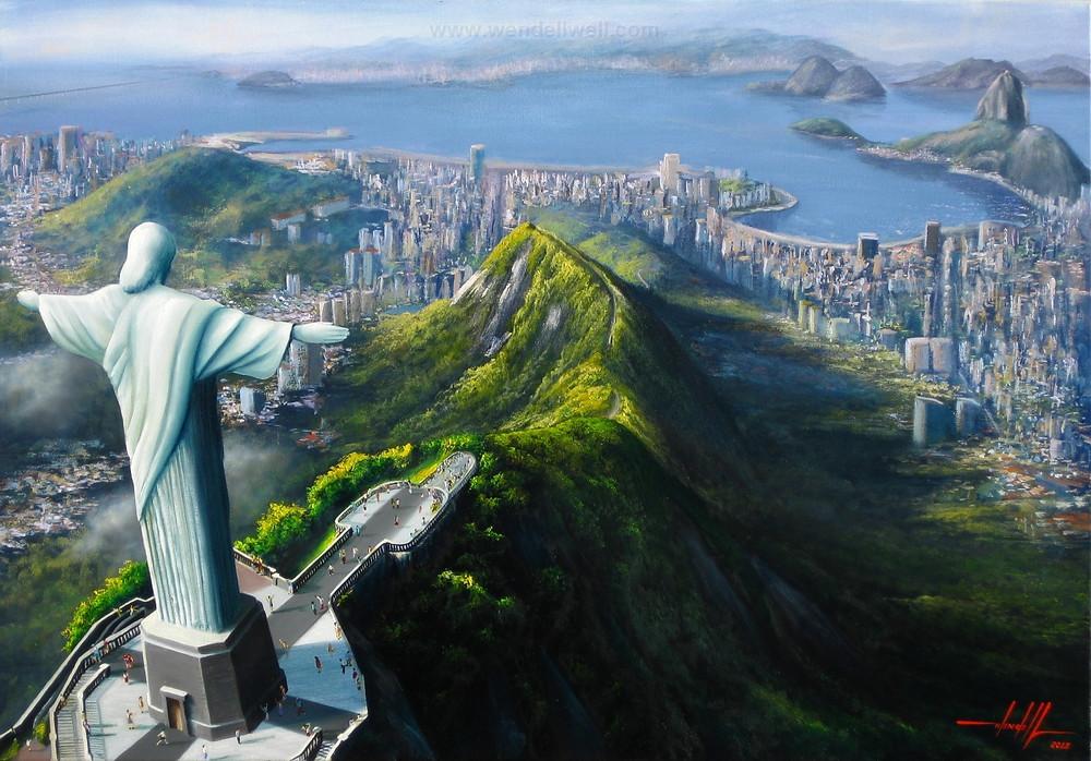 Pintura em Tela Rio de Janeiro
