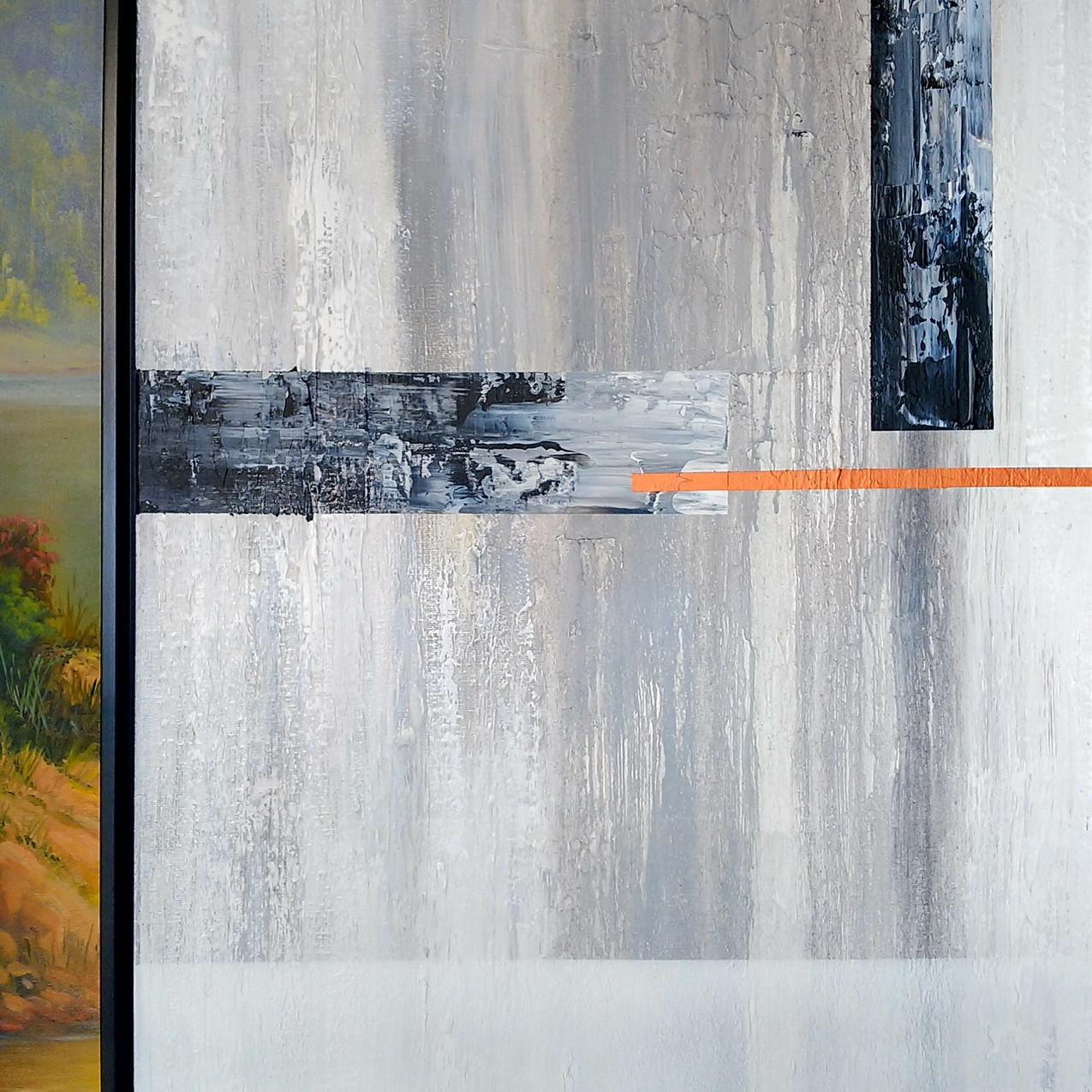 Pares De Quadros Abstratos Grandes (7)
