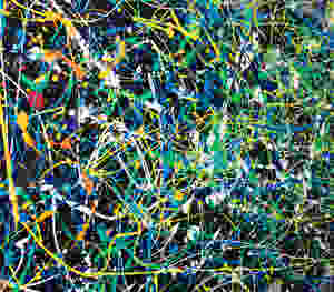 Pintura Abstrata Para Quadro Grande