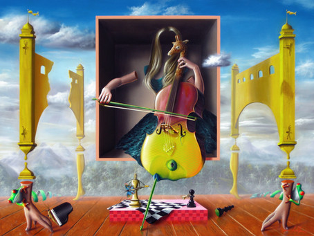 Obra Surrealista A Música