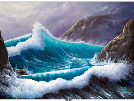 Pinturas De Marinhas Em Óleo Sobre Tela