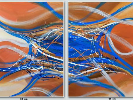 Quadros Abstratos Para Santos