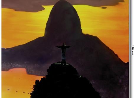 Rio De Janeiro Em Óleo Sobre Tela