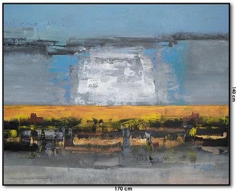 Pintura Contemporânea Para Quadro 170 cm X 140 cm LaBaleo