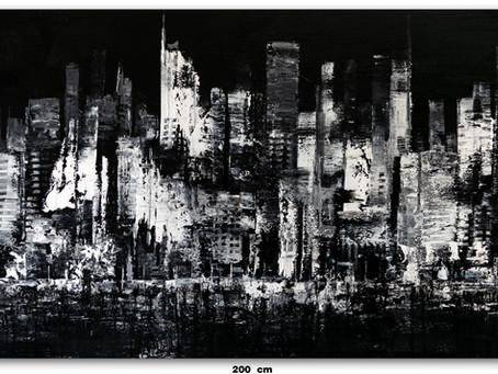 Quadros Abstratos Para São Paulo