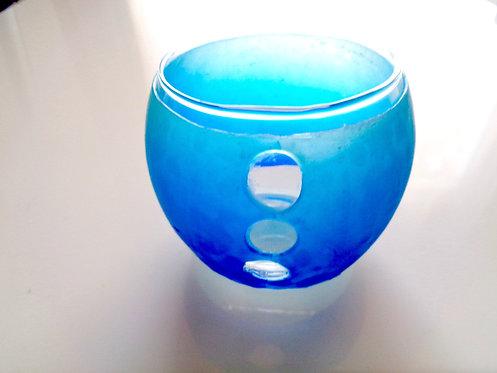 photophore translucide bleu