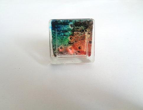 Resin copper square ring