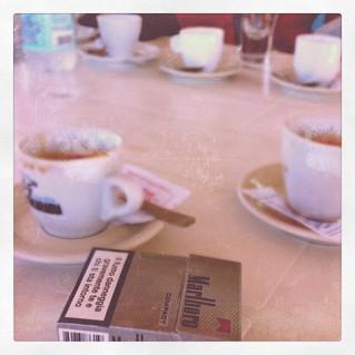 Caffè, amori e sigarette