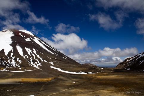 Mont Ngauruhoe, Parc national du Tongariro