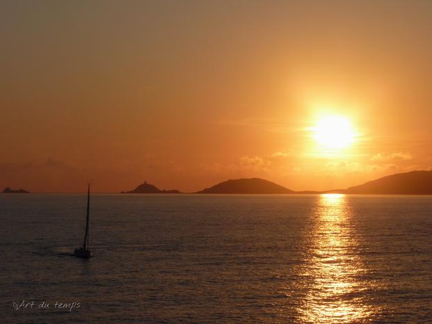 Les îles sanguinaires, Ajaccio