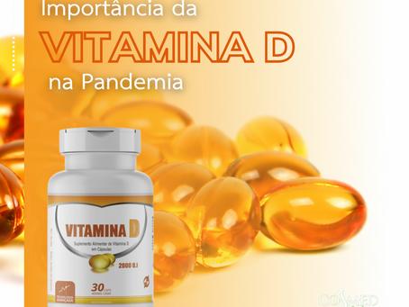 A importância da Vitamina D na pandemia.