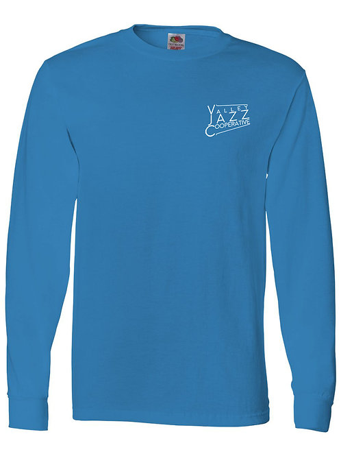 VJC Badge Pacific Blue LS T-Shirt