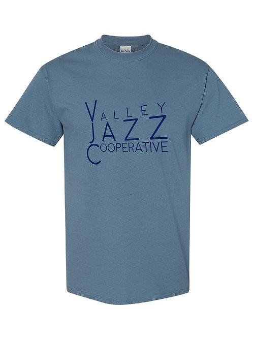 VJC Perspective Logo Pale Indigo SS T-Shirt