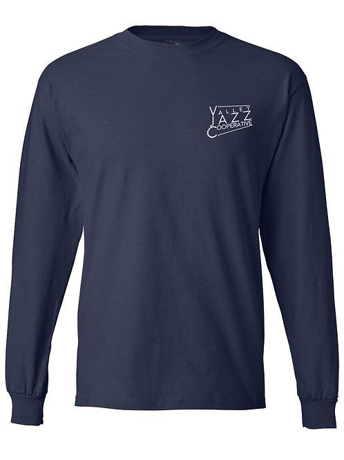 VJC Badge Navy LS T-Shirt