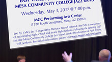 EVJC Performs with MCC Jazz Band - For evening of modern and classic big band music!