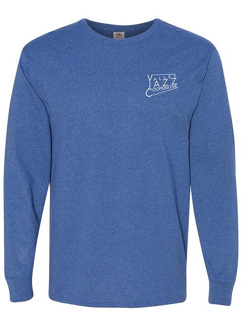 VJC Badge Retro Heather Royal LS T-Shirt