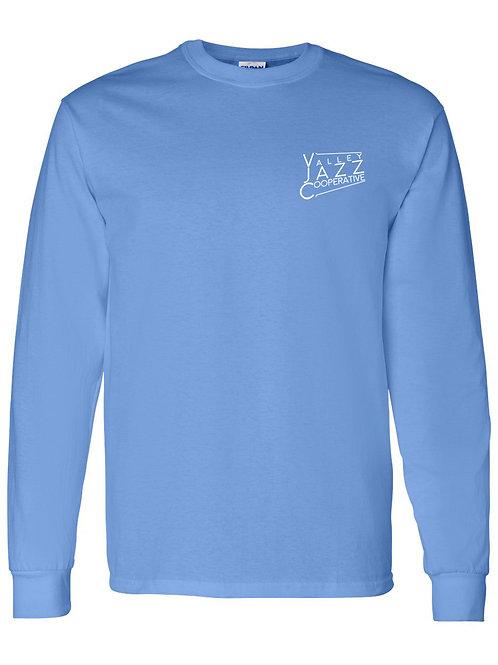 VJC Badge Carolina Blue LS T-Shirt