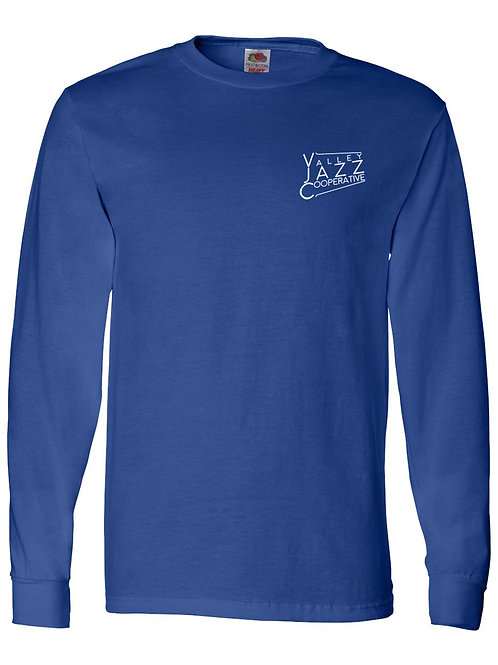 VJC Badge Royal LS T-Shirt