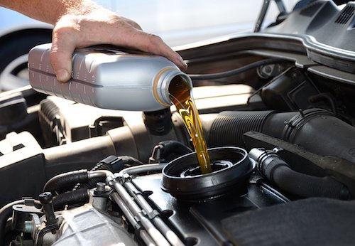 Oil Change - 4 Cylinder
