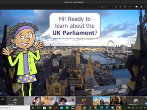 Virtual visit to Parliament