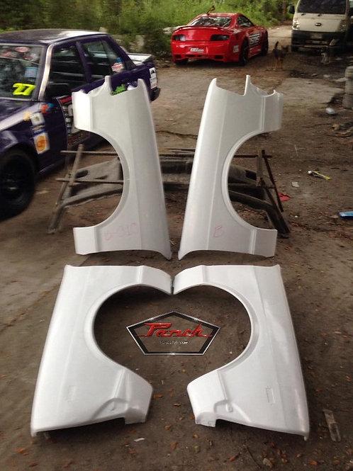 B310 Racing Kit Fiberglass Fenders and Rear Hatch