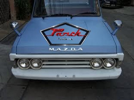Mazda B Series Pickup Brow, Grill and Bumper