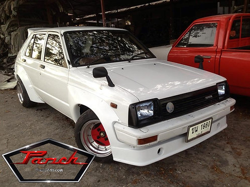 JDM TRD Wide Body kit for Starlet