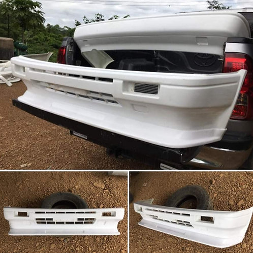 AE86 Style KE70 Bumpers with front Lip