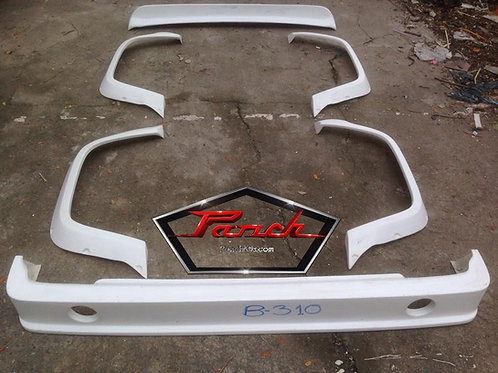 B310 JDM Race Areo-Kit Flares, Lip and Wing