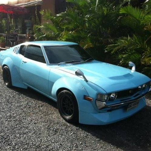 Wide Body Race Configuration For Liftback Classic Celica