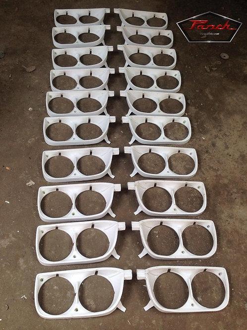 1 Set of 510 Headlight Bezels