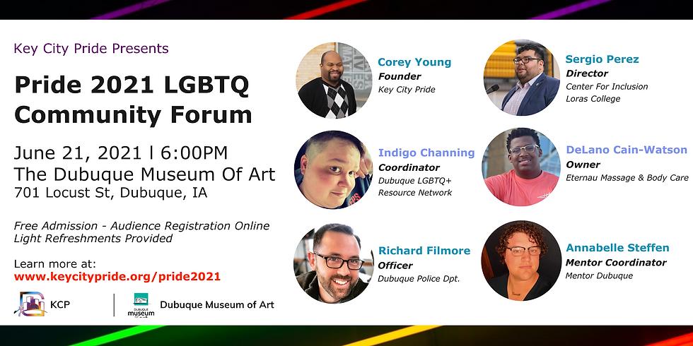 Pride LGBTQ Forum