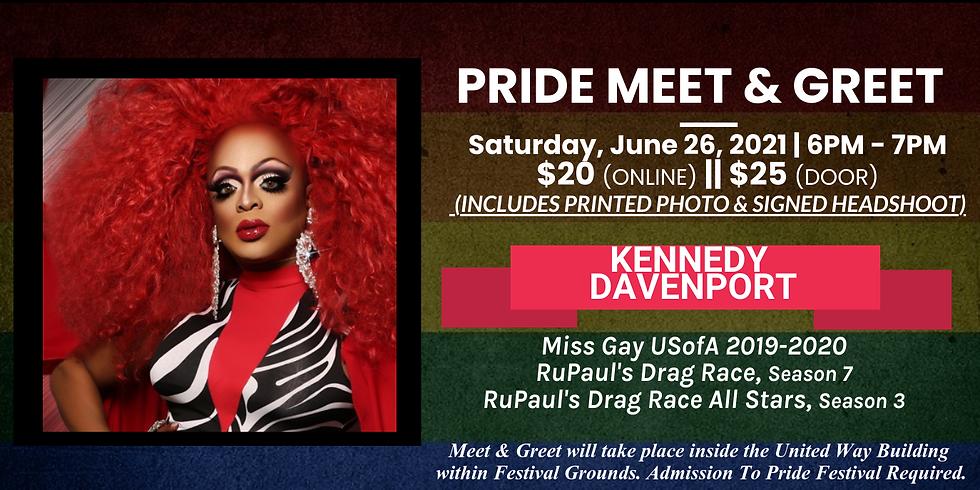 Meet & Greet w/ Kennedy Davenport