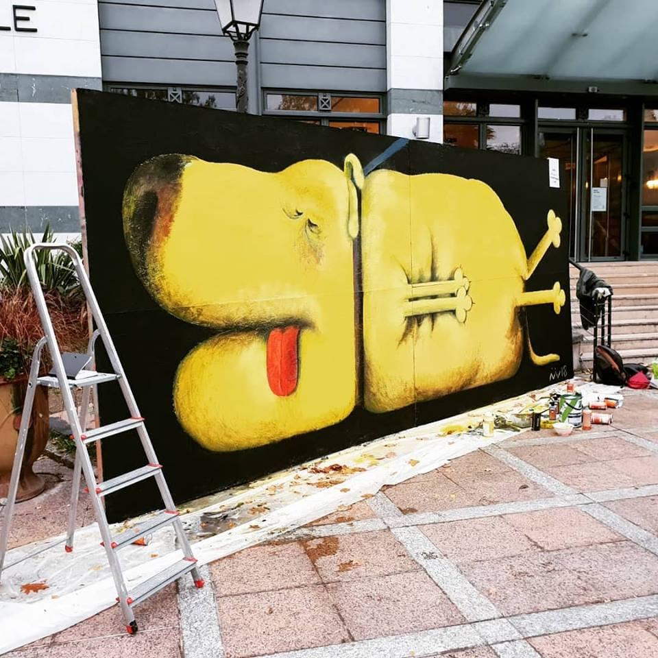 """""""En laisse"""" carroussel de l'art 2018 - ANTONY (92)"""